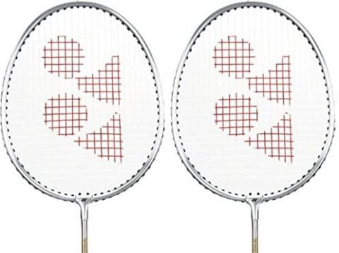 Yonex Badminton Racquet GR 303 With Extra Grip Pack Of 2