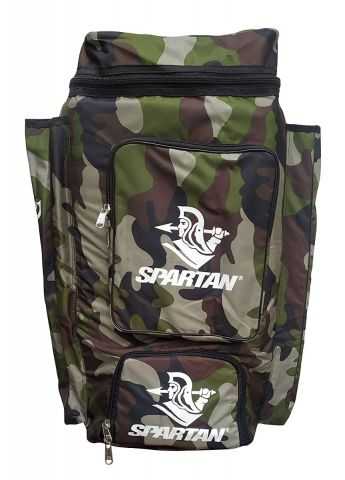 Spartan Ms Dhoni Cricket Kit Camouflage Backpack