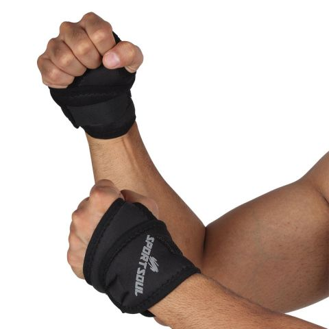 SportSoul Wrist Support with Thumb Wrap - Pack of 2