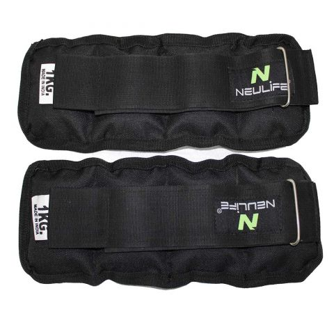 Neulife Wrist/Ankle Weights 2 kg (1 kg Each x 2 pc)