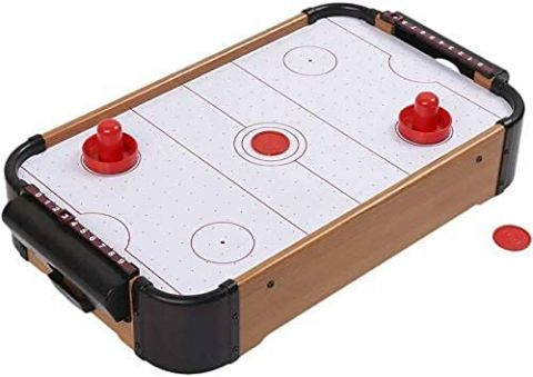 ASHICHIPRO Wooden Indoor Air Hockey Game Table