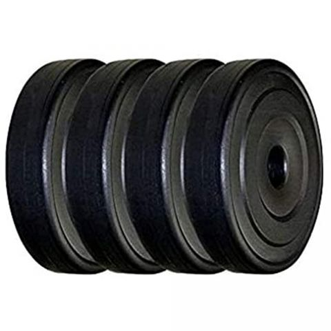 PVC Dumbbell Weight Plates Pack of 2