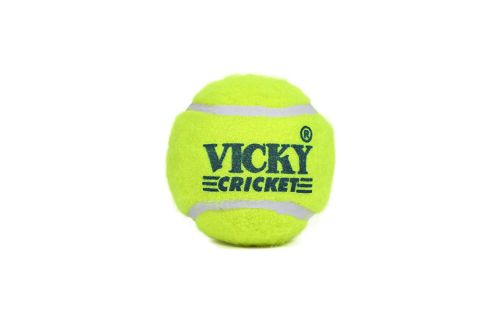 Vicky Rubber Cricket Tennis Ball ( Pack of  6)